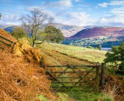 Cumbria property search, countryside, fields